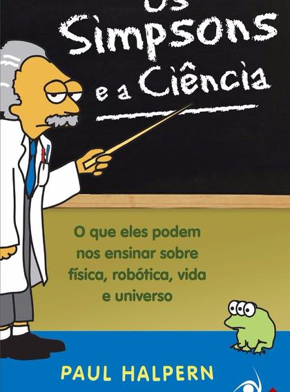 Livro Os Simpsons E A Ciência - Livro De Bolso