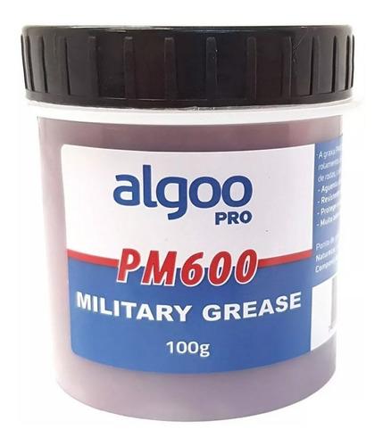 Graxa Militar Pm600 100gr Algoo Vermelha Suspensão