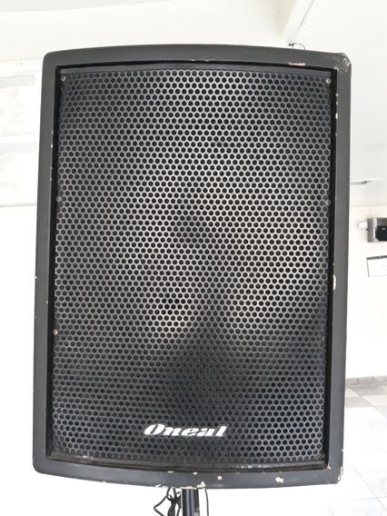 Caixa De Som Ativa (amplificada) Oneal Op 610