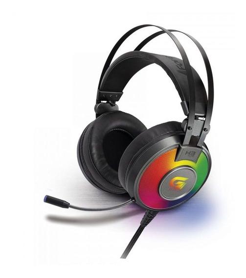 Headset Gamer Iluminacao Rgb 7.1 Usb Pt/cz G Pro H3+ Fortrek