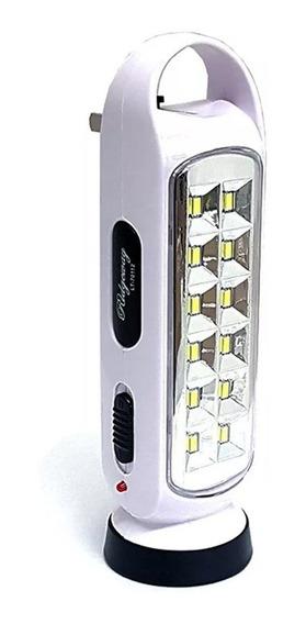 Lampara Emergencia Recargable Led Reflec Linterna 70112 /e