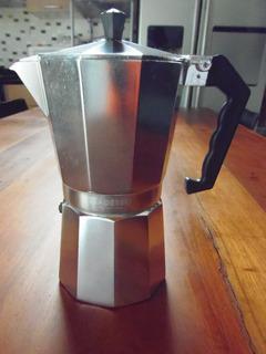 Cafetera Greca 9 Tazas Adesso Italiana Aluminio