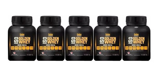 5x Iso Golden Whey Protein 40g Atacado Whey Isolada