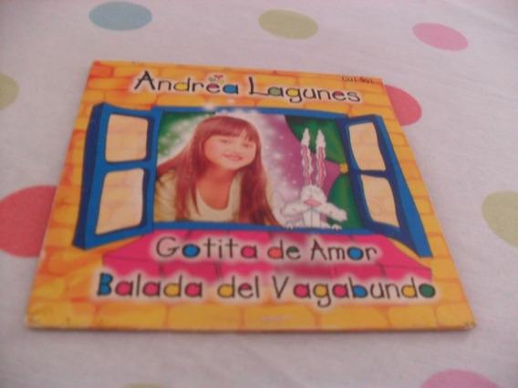 Cd Single Andrea Lagunes Novela Gotinha De Amor Original Sbt