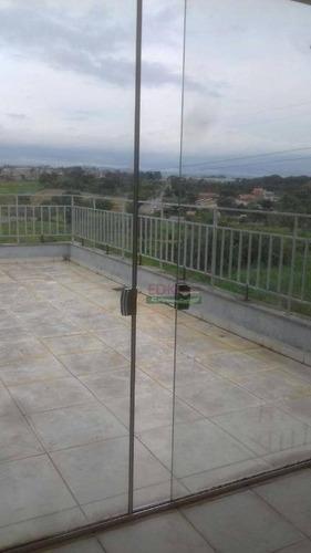 Imagem 1 de 16 de Cobertura Residencial Para Locação, Residencial Portal Da Mantiqueira, Taubaté. - Co0020