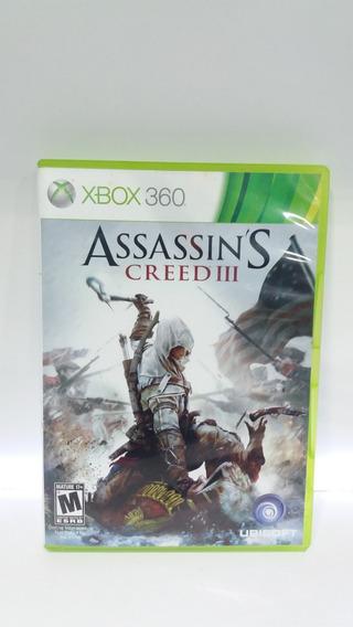 Assassins Creed 3 Microsoft Xbox 360 Só Disco Multplayer