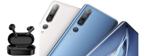 Bluetooth Qcy T3 New + Exclusivo Xiaomi Mi 10 Pro 12gb 512gb