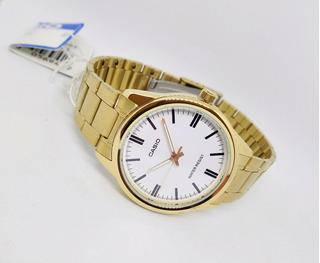 Reloj Casio Hombre Clasico Dorado Original
