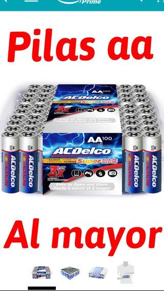 Baterias Alcalinas Aa Y Aaa Súper Acdelco, Precio Por Unidad
