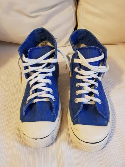 Zapatillas Tipo Converse. T 38. Como Nuevas