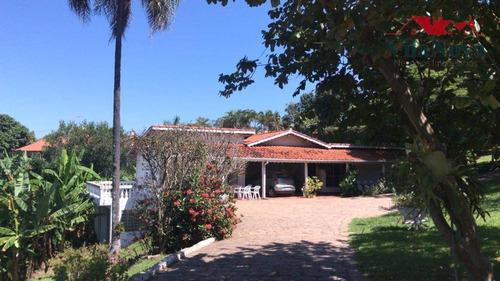 Chácara Com 2 Dormitórios À Venda, 6000 M² Por R$ 1.702.000,00 - Condomínio Vale Das Laranjeiras - Indaiatuba/sp - Ch0112