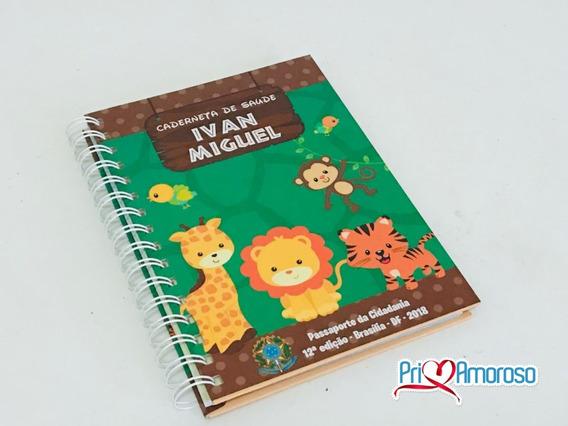 Caderneta De Vacinação Com Capa Dura Personalizada