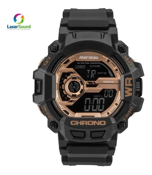 Relógio Mormaii Masculino Mo1105b/8j C/ Garantia E Nf