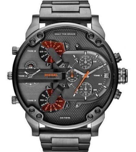Relógio Diesel Mr. Daddy 2.0 Dz7315 Masculino Cinza Com Cx