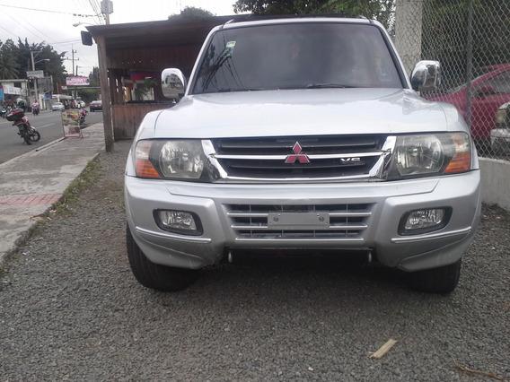 Mitsubishi Montero 2003 Cara De Gato Nitida