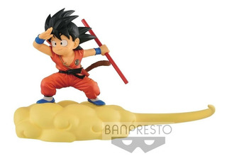 Banpresto Kintoun Dragon Ball Kid Goku Red Y Flying Nimbus