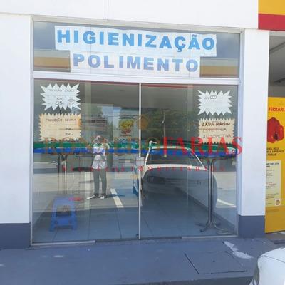 Salao Comercial Em Posto De Gasolina Na Regiao De Interlagos - Sz5716