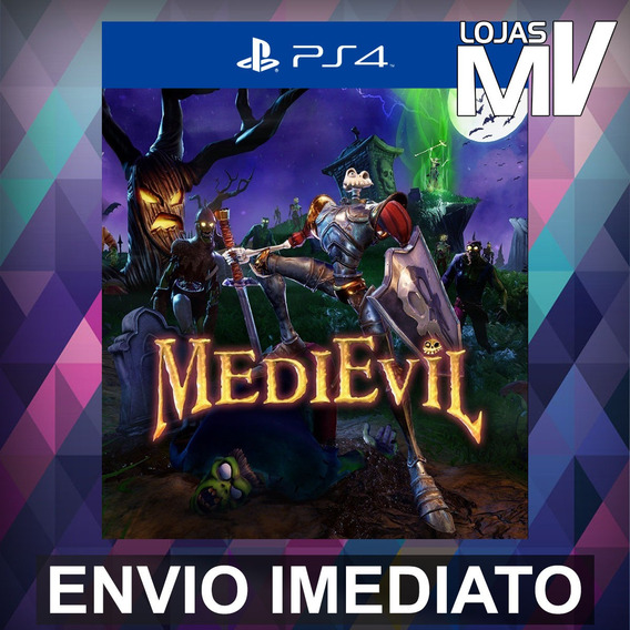 Medievil - Playstation 4 Ps4 Código 12 Dígitos