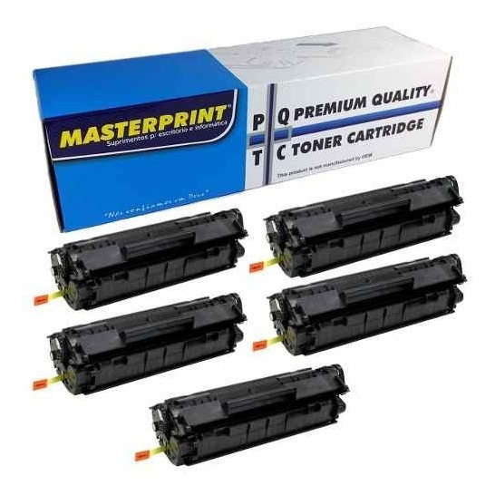 Kit Toner Masterprint Ce285a Compativel 85a 35a P1102w