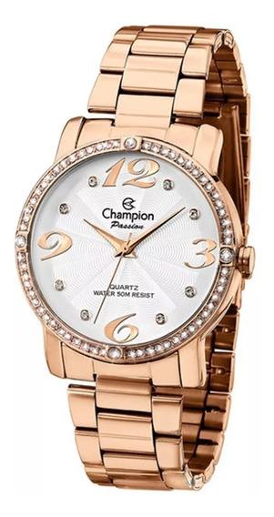 Relógio Champion Passion Feminino Rose Ch24768z