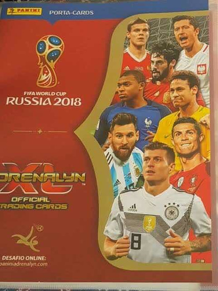 Adrenalyn Copa 2018 Coleção Completa 468 Cards