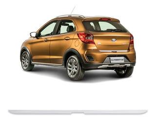 Friso Porta-malas Ford Ka Hatch 2015/2020 Escovado Resinado