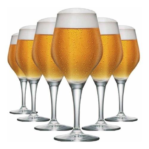 Taça De Cerveja Beer Sommelier Elegance 615ml 6 Pcs