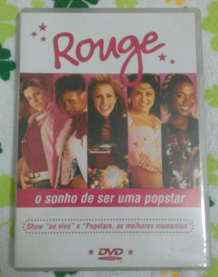 Dvd Rouge O Sonho De Ser Uma Popstar - Original - Completo!