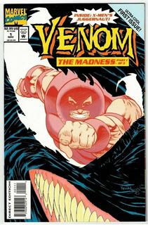 Venom The Madness 1 (marvel 1993) Kelley Jones.