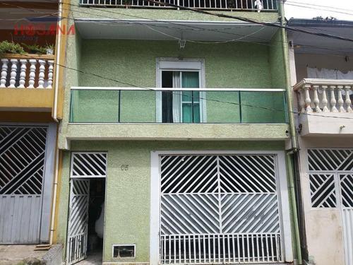 Sobrado Com 3 Dormitórios À Venda, 180 M² Por R$ 240.000,00 - Vera Tereza - Caieiras/sp - So0888