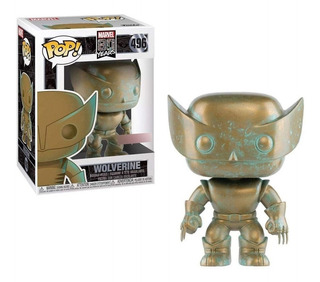 Figura Funko Pop Marvel 80th - Wolverine 496 Original Wabro.