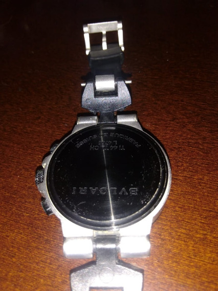 Relógio Bvlgari Original L4766 Ti44tach