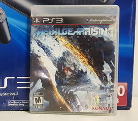 Jogo Metal Gear Rising Playstation 3 Midia Fisica Ps3