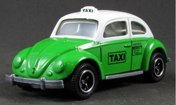 G3 1/58 Matchbox Fusca Volkswagen Beetle Taxi 08 City Action