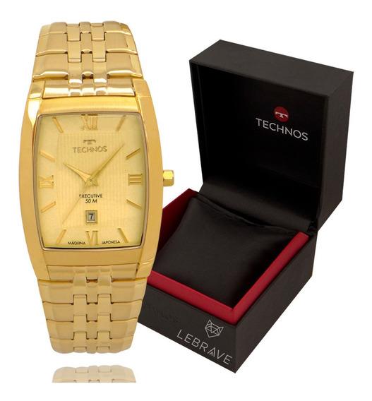 Relógio Feminino Technos Dourado Prova D