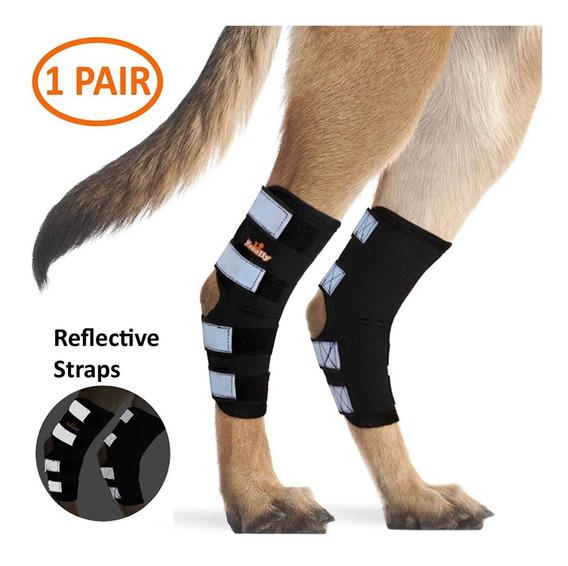 Neoally Dog Rear Leg Hock Brace Canino Mangas Articuladas