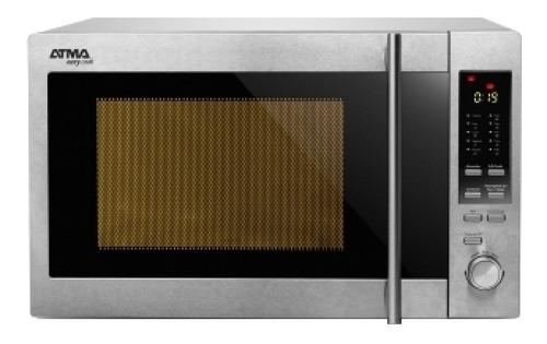 Microondas Grill Atma Easy Cook MC930XE  acero inoxidable 30L 220V