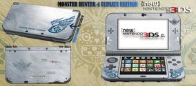 Skin 3ds Xl / New Xl Monster Hunter Sublimeskins