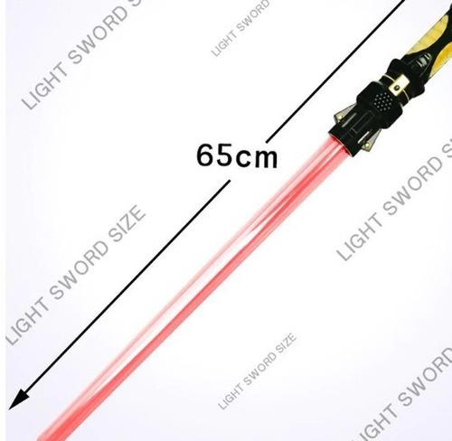 Espada Laser Star Wars Colores Intercambiables No Es Juguete