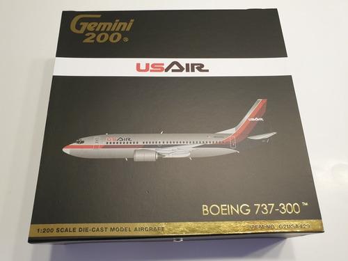 Aviòn Gemini Escala 200, Boeing 737-300 Usair.
