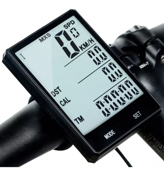 Computadora Velocimetro Odómetro Pantalla Digital Bicicleta