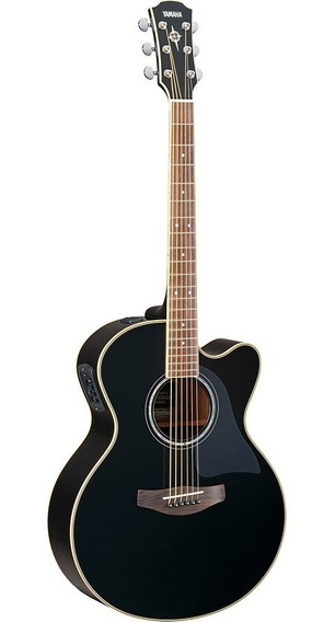 Guitarra Electroacústica Yamaha Cpx700ii Bl Black Nueva