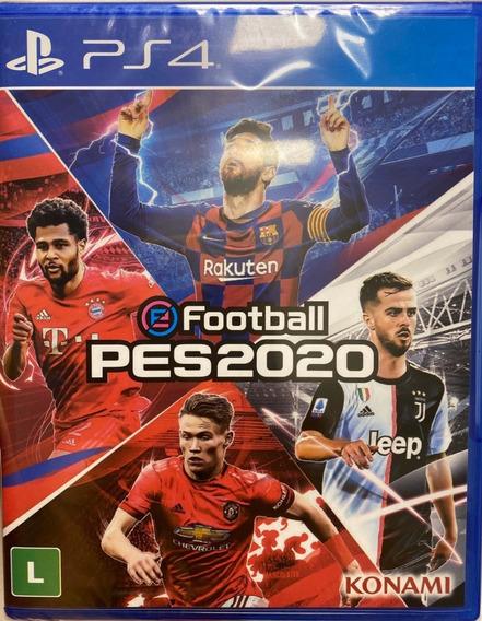 Pes 2020 Ps4 Mídia Física - Original Lacrado Playstation 4