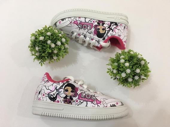 Zapatillas De Nena Niñas Lol Rockera Talles 26 Al 34