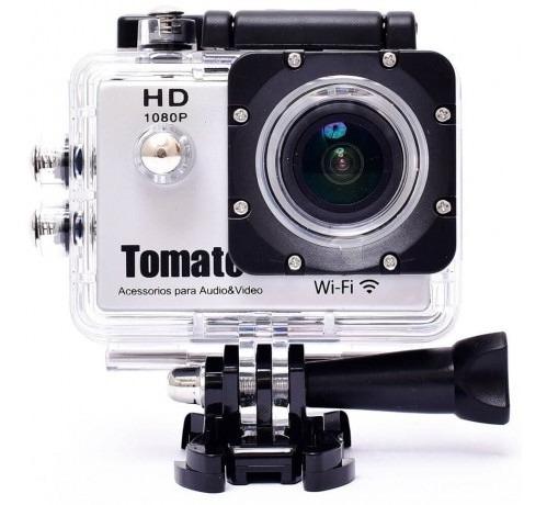 Câmera Filmadora Esporte 4k Wifi Youtuber Go Tomate Mt-1091k