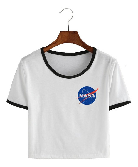 Remera Corta Nasa - Pupera Logo - Tumblr