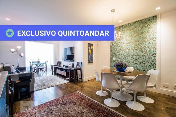 Apartamento No 10º Andar Mobiliado Com 3 Dormitórios E 3 Garagens - Id: 892953605 - 253605
