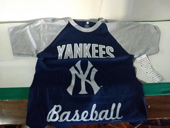 Yankees Playera Original Talla M Marca Mlb Custom