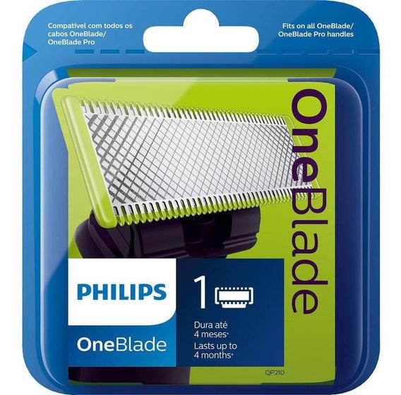 Lamina Refil Oneblade Barbeador Philips Qp210 One Blade