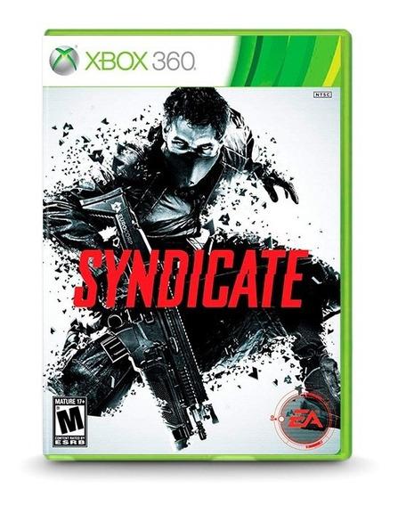 Syndicate - Original Para Xbox 360 - Novo